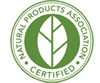 Natural Products Association Certification Logo